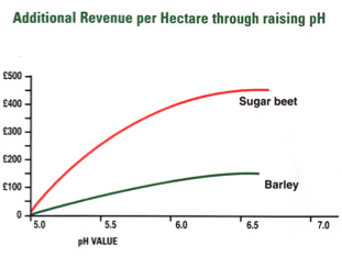 ALA liming yield benefit diagram